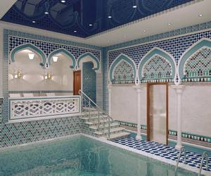 beauty, blue, and morocco image