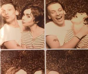Jamie Campbell Bower, lily collins, and jamily image