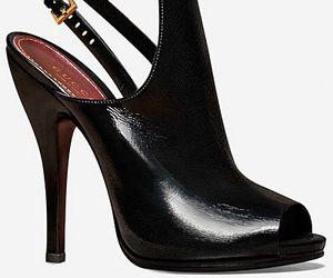 heels, shoes, and Prada image