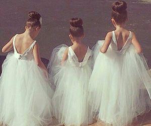 dress, kids, and wedding image