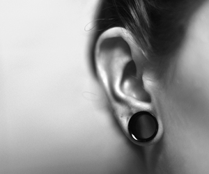 alternative, tunnel, and stretched ear image