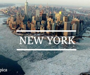 fashion, text, and new york image