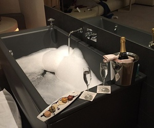 luxury, bath, and bathroom image