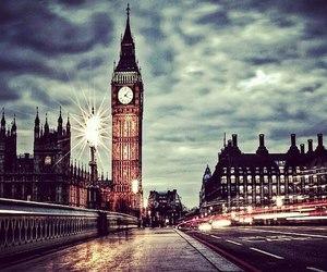 london, Big Ben, and night image