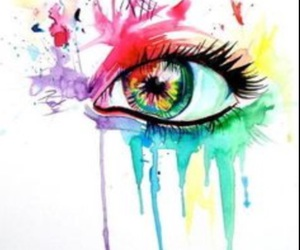 art, colourful, and paint image