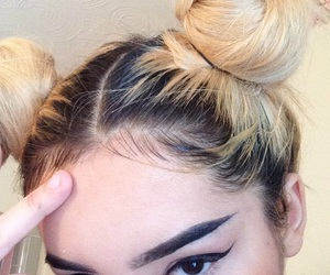 hair, eyebrows, and hairstyle image