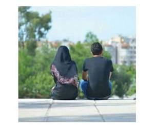 hijab, حُبْ, and حلالي image