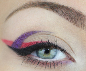 color, eye, and eyeliner image