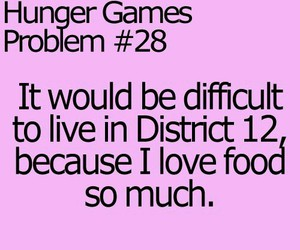 food, the hunger games, and district 12 image