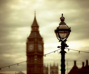 blurry, clock, and london image