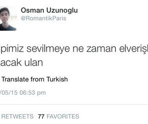 twitter, komik, and türkçe sözler image