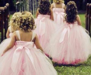 pink, wedding, and girls image