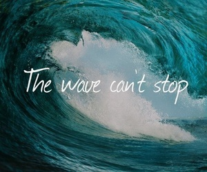 quotes, sea, and wave image