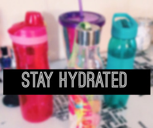 water, fitness, and motivation image