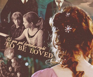harry potter, ron, and love image