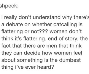 tumblr, feminism, and flattery image