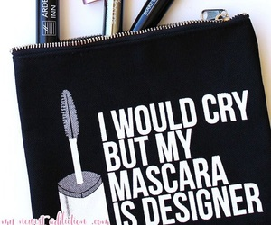 makeup and mascara image