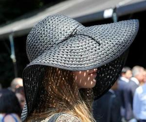 elegance, hat, and woman image