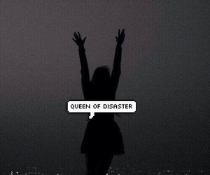 aesthetic, dark, and disaster image