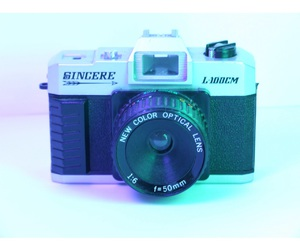 camera, coller, and cute image