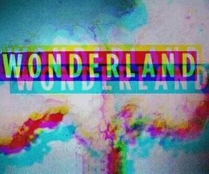 wonderland and smoke image