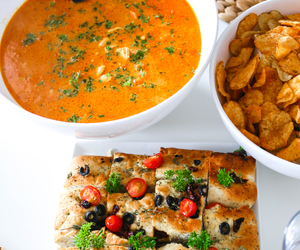 dinner, food, and soup image