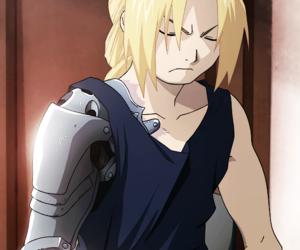 anime and fullmetal alchemist image
