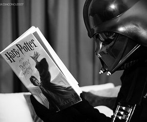 harry potter, star wars, and darth vader image