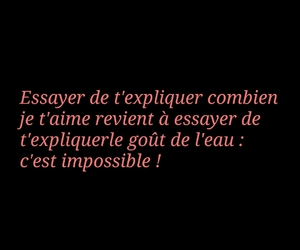 amour, impossible, and aimer image