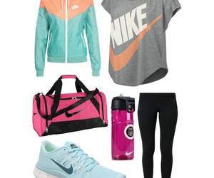 fitness, workout, and oufits image