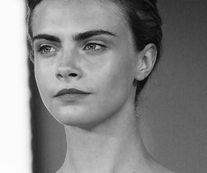 model, girl, and cara delevingne image