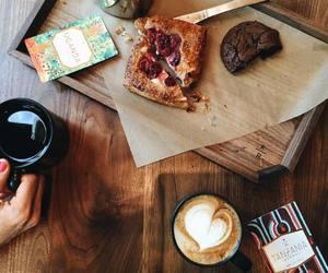 coffee, food, and starbucks image