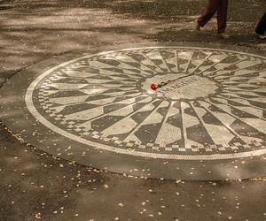 Central Park, imagine, and john lennon image