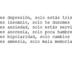 depression, anorexia, and insomnio image