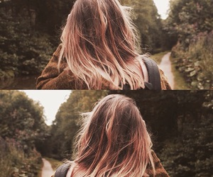 adventure, hair, and happy image