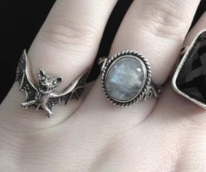 ring, fashion, and pale image