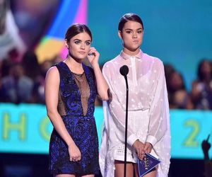 lucy hale, the fosters, and maia mitchell image