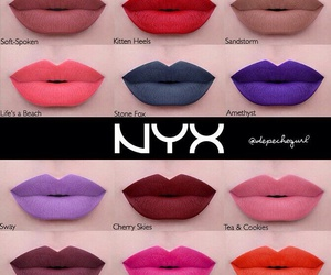 NYX, lipstick, and makeup image