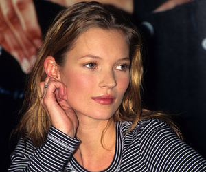kate moss, model, and blonde image