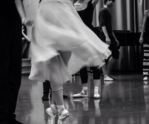 ballet, rehearsal, and paris opera ballet image