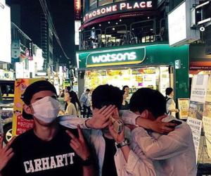 korea, ulzzang, and asian boys image