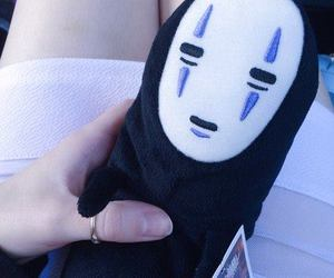 ghibli, no face, and plush image