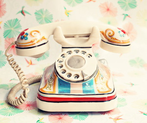 telephone, vintage, and old image