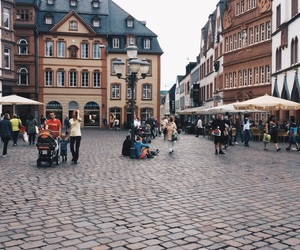 city, shopping, and germany image