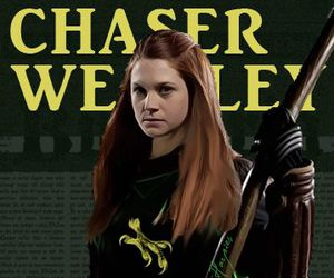harry potter, ginny weasley, and chaser image