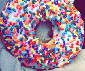 donuts, food, and snapchat image