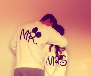 love, couple, and mr image