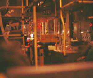 analog, bus, and dark image