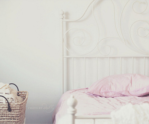 bed, pastel, and vintage image