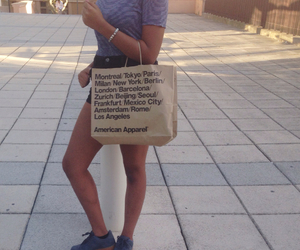 american apparel, fashion, and girl image